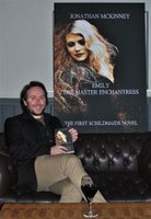 Jonathan McKinney at the Sirens Launch book release party for Emily The Master Enchantress