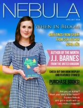 Nebula Magazine, JJ Barnes, J.J. Barnes, J.J. Barnes Magazine Cover, JJ Barnes Magazine Cover, Siren Stories, Lilly Prospero And the Magic Rabbit Magazine Cover