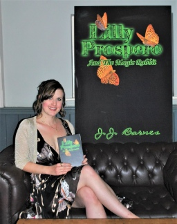 J.J. Barnes, Lilly Prospero And The Magic Rabbit, Lilly Prospero, The Lilly Prospero Series, J.J. Barnes Author, Siren Stories